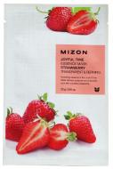 Тканевая маска с клубникой MIZON Joyful time essence mask strawberry 23г: фото