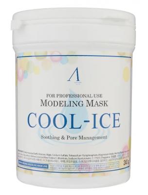 Маска альгинатная охлаждающая Anskin Cool-Ice Modeling Mask 700мл: фото