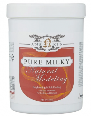 Маска альгинатная осветляющая Anskin Pure Milky Modeling Mask 450г: фото
