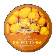 Крем для лица очищающий с экстрактом картофеля DEOPROCE PREMIUM CLEAN & DEEP POTATO CLEANSING CREAM 300г: фото