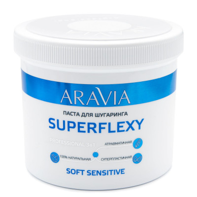 Паста для шугаринга ARAVIA Professional SUPERFLEXY Soft Sensitive 750г: фото