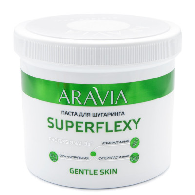 Паста для шугаринга ARAVIA Professional SUPERFLEXY Gentle Skin 750г: фото