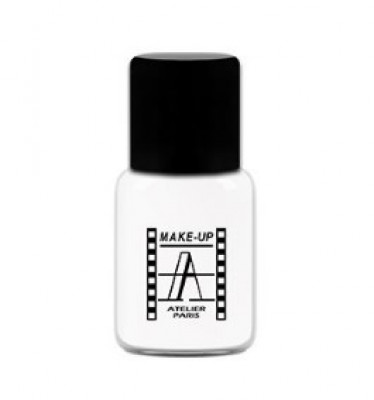 Тон-флюид водостойкий Make-Up Atelier Paris BLU 5FLWBLU ярко-белый 5мл: фото