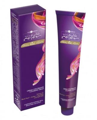 Крем-краска Hair Company INIMITABLE COLOR Coloring Cream 5.66 Светло-каштановый интенсивно-красный 100мл: фото