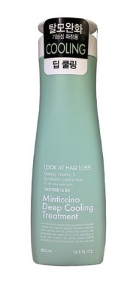 Кондиционер для волос охлаждающий DAENG GI MEO RI Look At Hairl Loss Minticcino Deep Cooling Treatment 500мл: фото