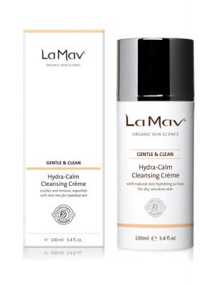 Очищающий крем с увлажняющим и успокаивающим действием La Mav Hydra-Calm Cleansing Creme 100 мл: фото