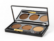 Набор теней для бровей Lic Professional eyebrow set 04 Relaxing beach: фото