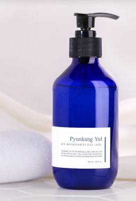 Шампунь и гель для душа 2-в-1 для чувствительной кожи Pyunkang Yul ATO Wash & Shampoo Blue Label 290мл: фото