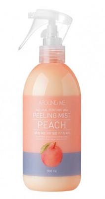 Пилинг-мист для тела с экстрактом персика WELCOS AROUND ME Natural Perfume Vita Peeling Mist Peach 300мл: фото